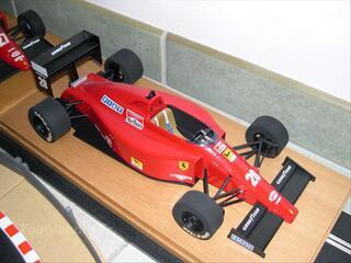 Ferrari F1 89 de 1989 fabricant mg model tron au 1/14