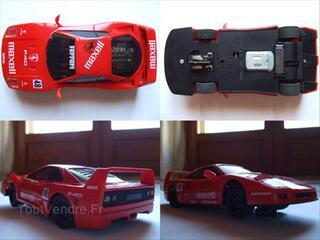 Ferrari F40 Maxell/Scalextric/Eclairage/PORT GRATUIT