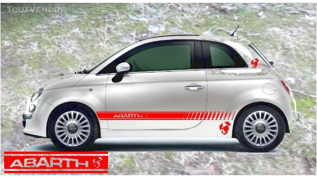 FIAT 500 abarth stickers 382581231