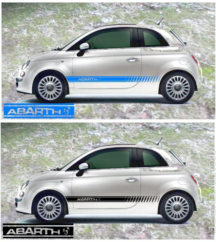 FIAT 500 abarth stickers 382581345