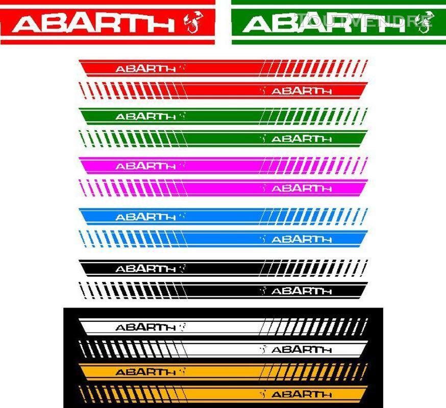 FIAT 500 abarth stickers 382581399