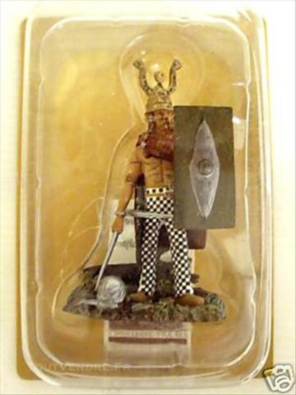 Figurine GUERRIER CELTE - 2e Siecle Av. JC -PLOMB -FRONTLINE 74609806