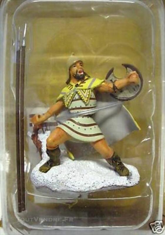 Figurine GUERRIER LANCIER PELTASTE THRACE -FRONTLINE FIGURES 74609804