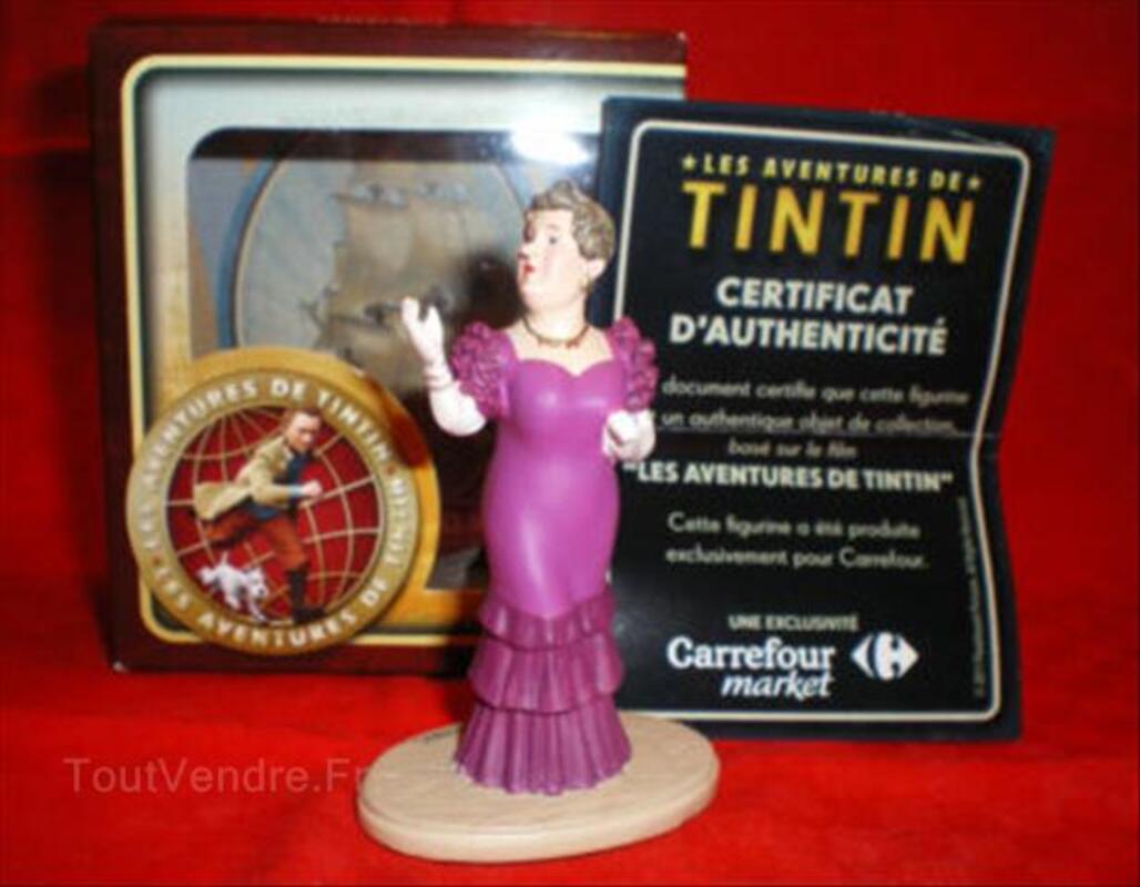 FIGURINE LA CASTAFIORE / Collection Tintin 56301794