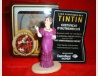 FIGURINE LA CASTAFIORE / Collection Tintin