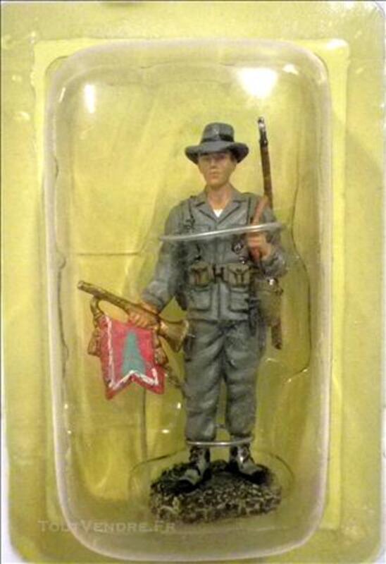 FIGURINE Legion Etrangere:CAPITAINE CLAIRON DU 5e REI (1951) 74609791