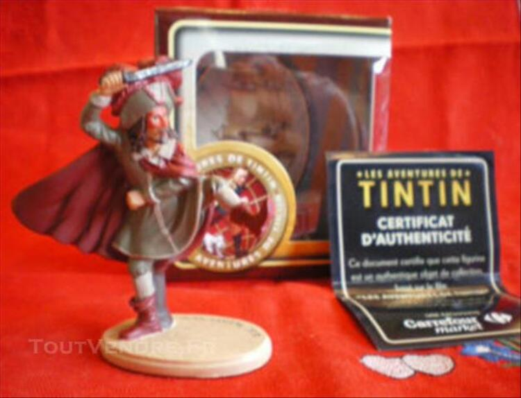 FIGURINE RACKHAM LE ROUGE / Collection Tintin 77275686