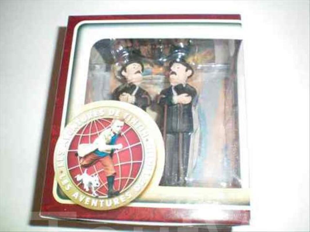 Figurine tintin carrefour market dupont et dupond 56222560