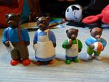 Figurines petit ours brun