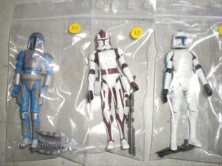 Figurines Star wars - Clone wars diverses loose
