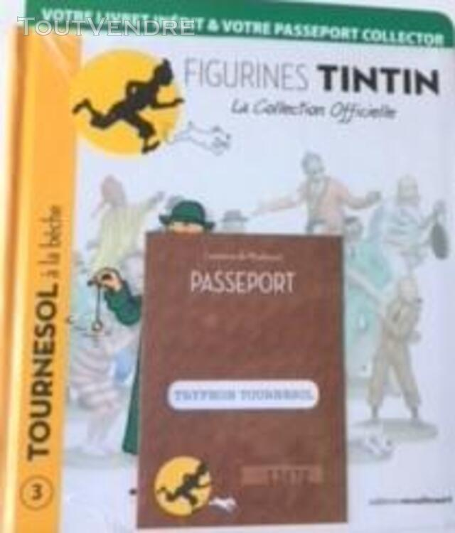 Figurines Tintin - La Collection Officielle. 411147004