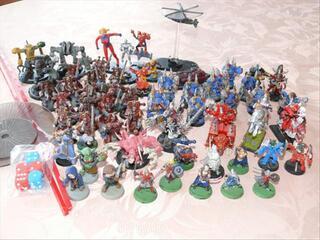 Figurines : warhammer , mechawarrior , plastoy , fenryl