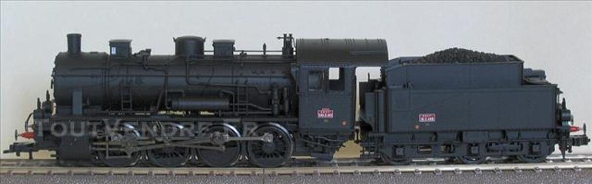 FLEISCHMANN Locomotive vapeur tender SNCF ref 93.4154 FE 73795896