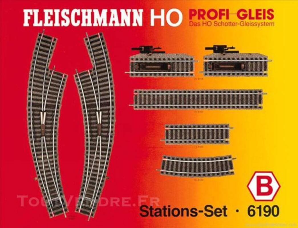 FLEISCHMANN Set de gare Profi (H0) Ref. 6190 B 73851413