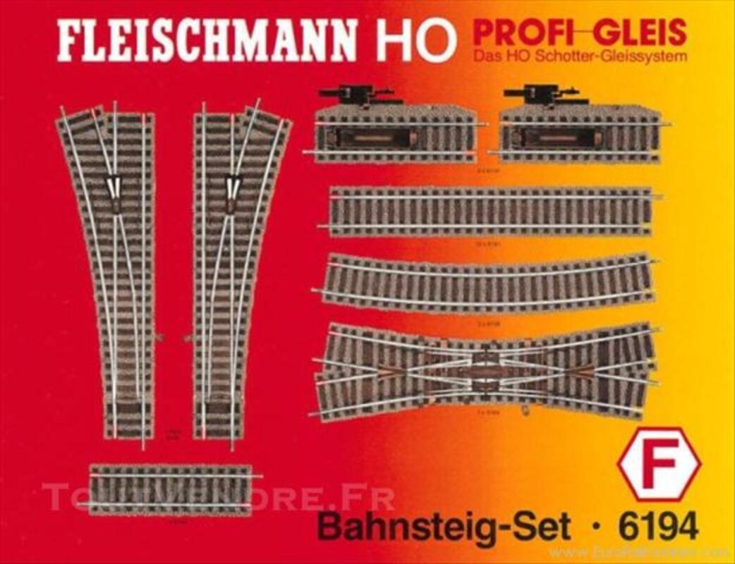 FLEISCHMANN Set de quai Profi (H0) Ref. 6194 F 73899448