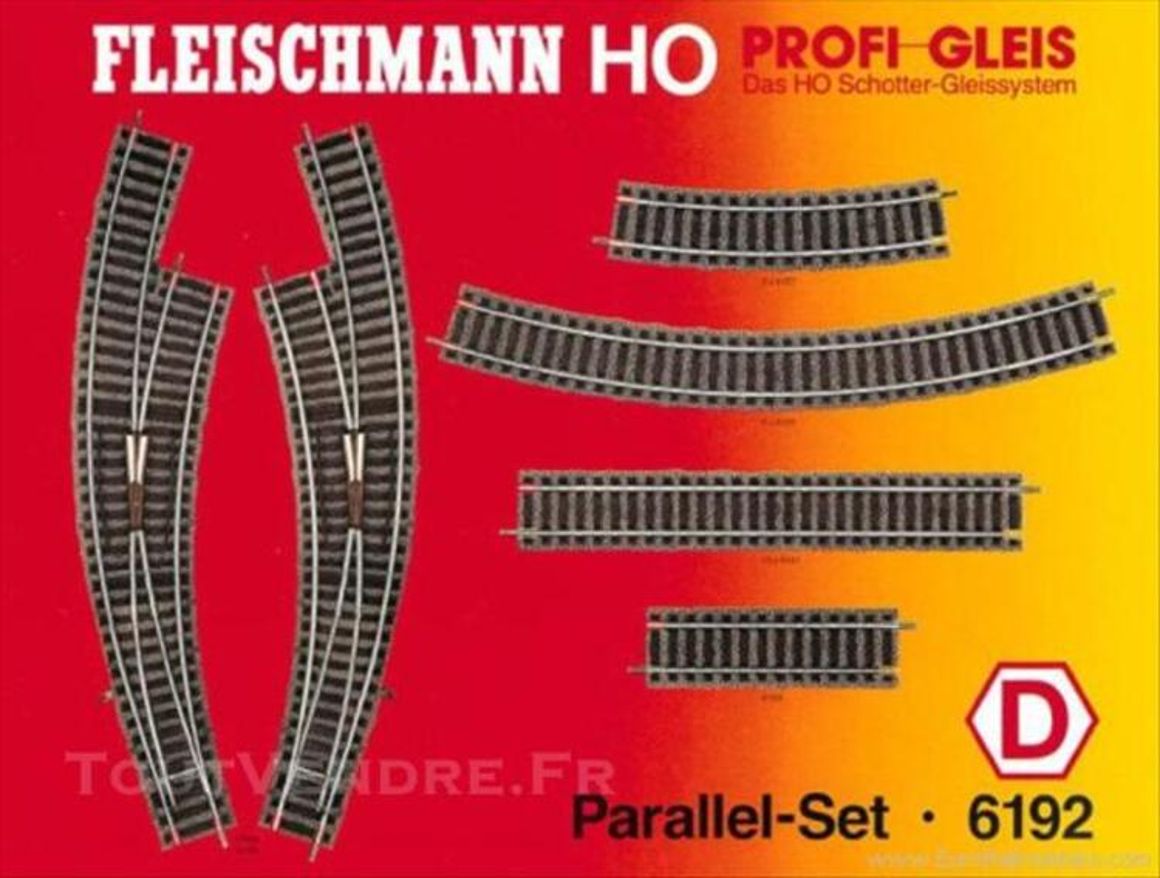 FLEISCHMANN Set parallèle Profi (H0) Ref. 6192 D 73851782