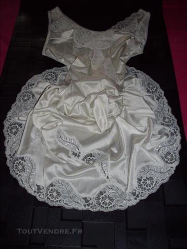 Fond de robe combinaison nylon unterkleid 77551340