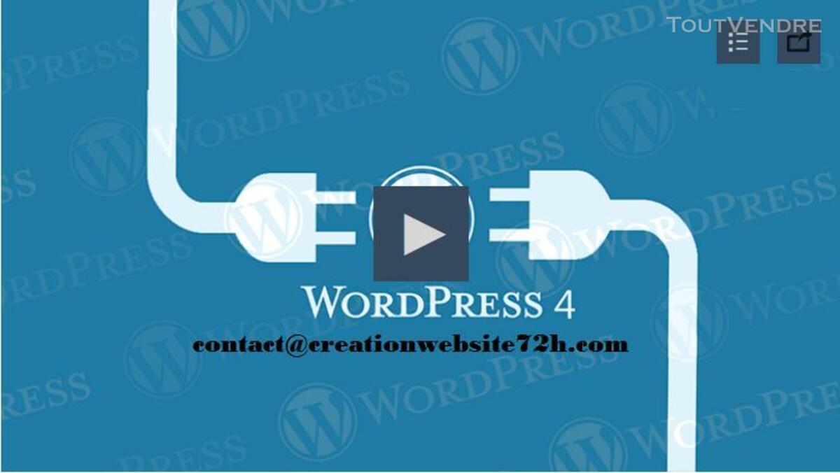 Formation en ligne pour créer votre sitre web avec wordpress 194805612