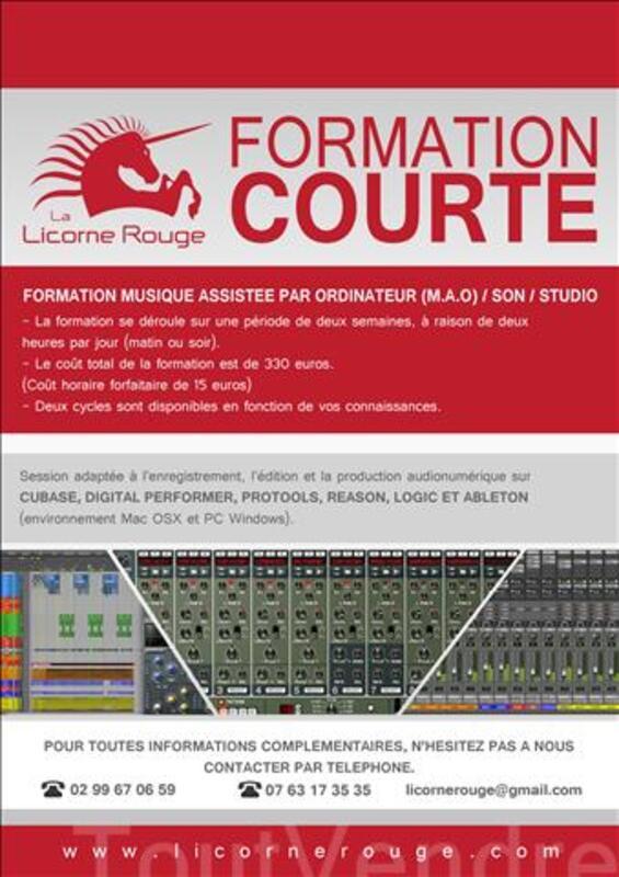 Formation Musique Assistée par Ordinateur (M.A.O) 86752662
