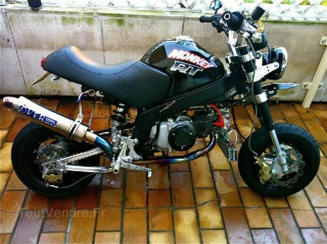 Fourche KSR / Honda ZB / ZB50 / Gorilla / Monkey 94032770