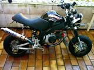Fourche KSR / Honda ZB / ZB50 / Gorilla / Monkey