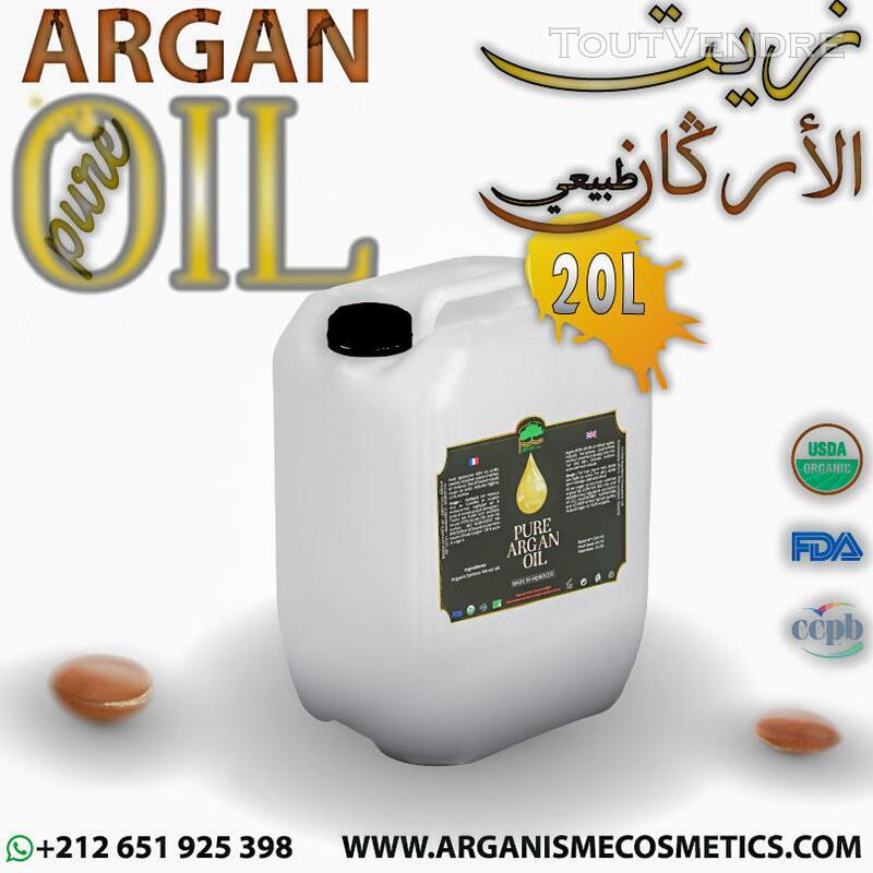 Fournisseur de l'Huile cosmétique d'argan achetée du Maroc 357254491
