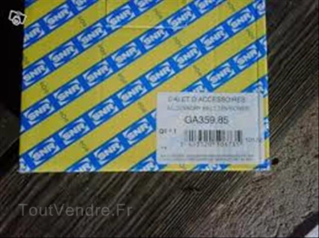 Galet tendeur de courroie d'accessoire SNR GA359.8 99699212