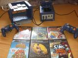 Game Cube + 2 Manettes + 3 Memory card + 6 jeux