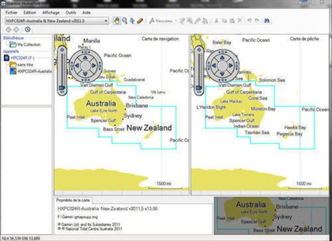 Garmin BlueChart g2  HXPC024R - Australia & New Zealand 73988106