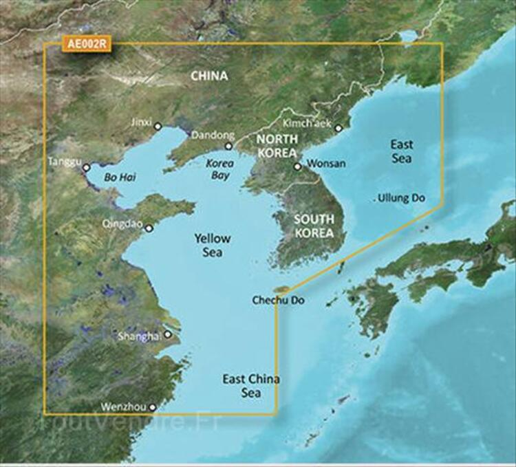 Garmin BlueChart g2 Vision  VAE002R  Yellow Sea v2011 72953095