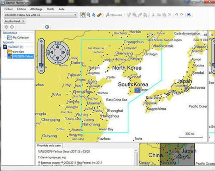 Garmin BlueChart g2 Vision  VAE002R  Yellow Sea v2011 72953096