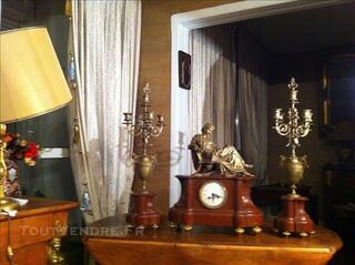 Garniture de cheminée  époque Napoléon III