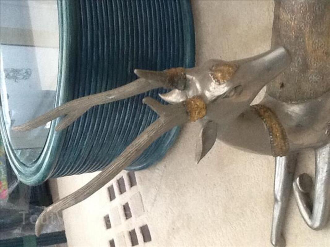 Gazelle Thaii en metal ancienne 99299190