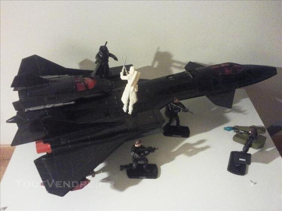 GI JOE night raven + figurines. 75711031
