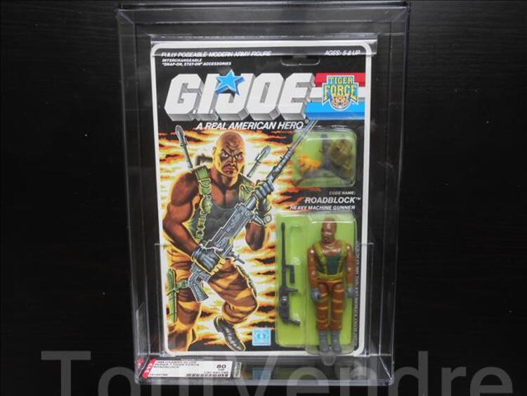 GI JOE ROADBLOCK AFA-80 NM ARCHIVAL scellé 102072332