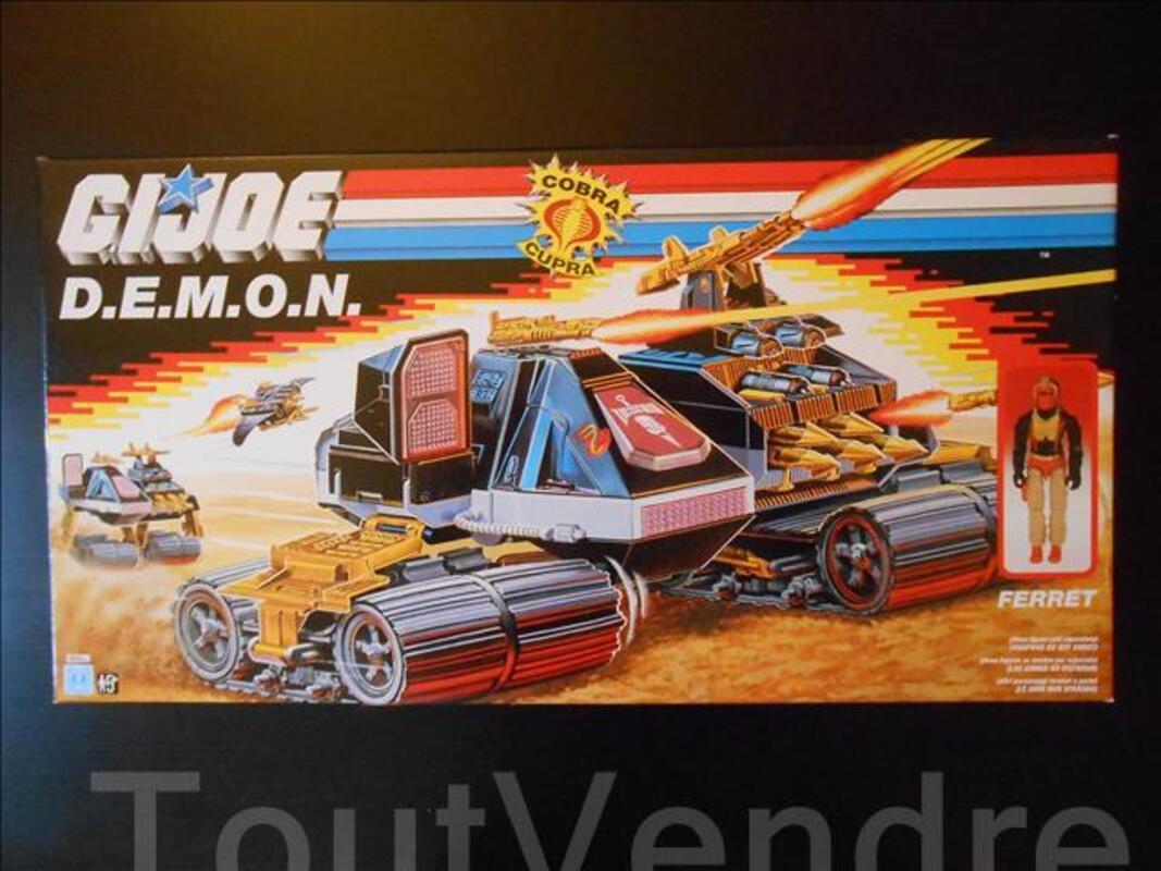 Gi joe vehicule - D.E.M.O.N scellé 102072306