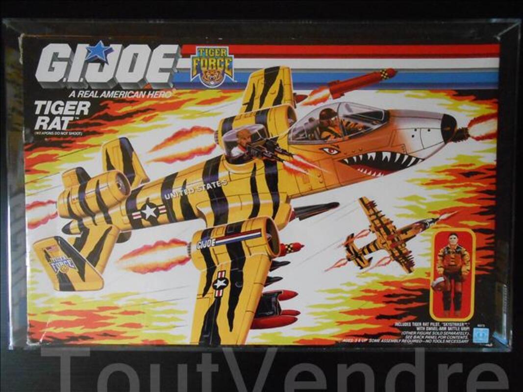 GI JOE VEHICULE - tiger rat AFA 80 Q-NM 102072318