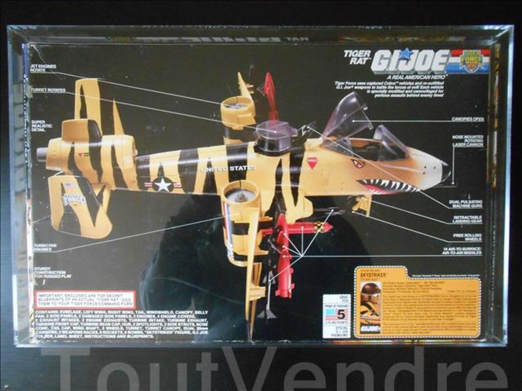 GI JOE VEHICULE - tiger rat AFA 80 Q-NM 102072319