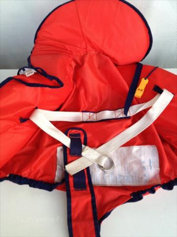 Gilet de sauvetage enfant avec longe ligne de vie -Rare 54536631
