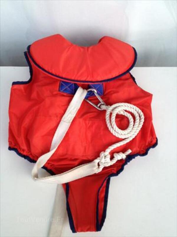 Gilet de sauvetage enfant avec longe ligne de vie -Rare 54536632