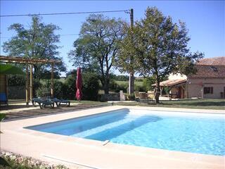 Gites de charme,piscine au Pays des Bastides en Périgord
