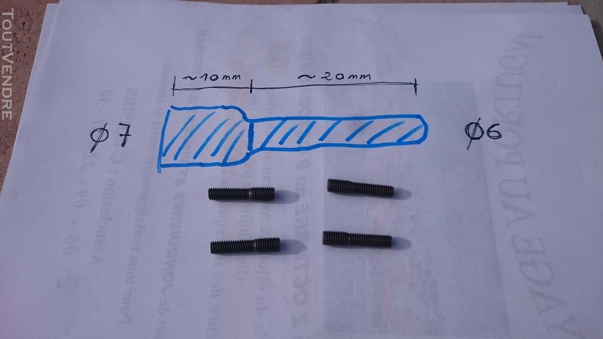 Goujons de réparation 7mm X 6 mm 746229098