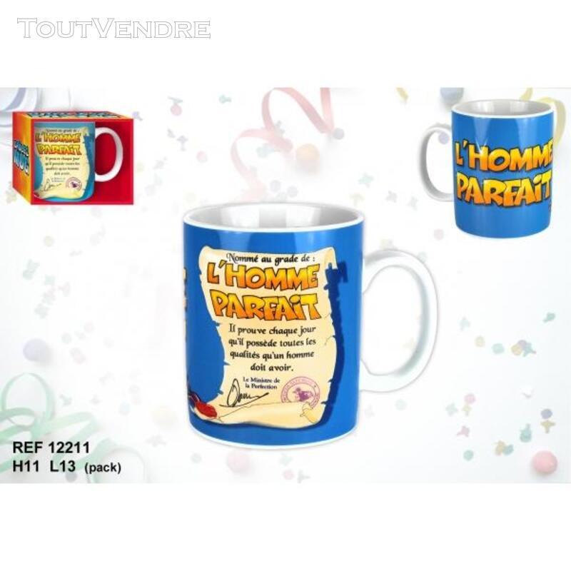 Grâce à ces mugs, vous serez parfait ou parfaite .... 144578733
