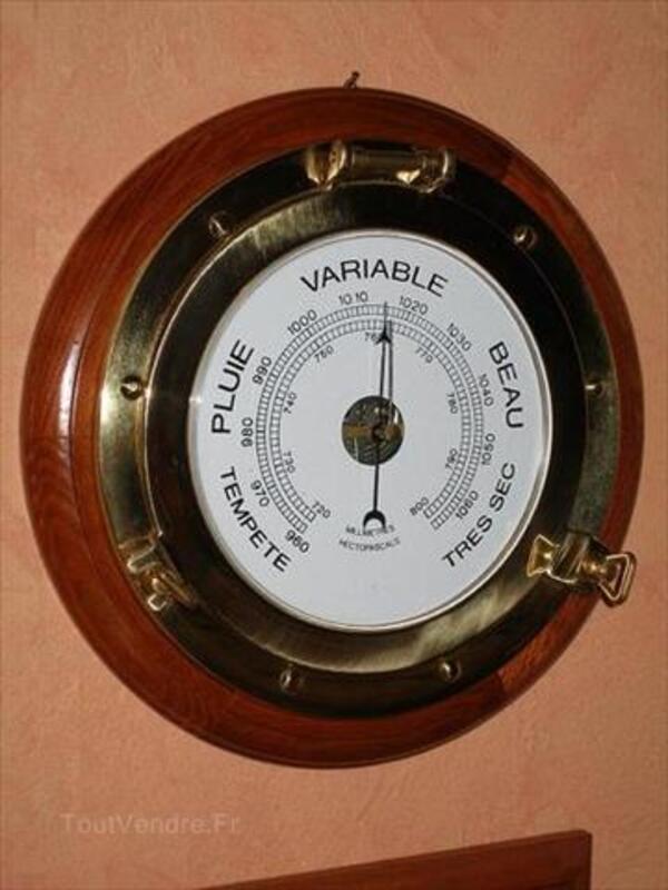 Grand barometre hublot, diamètre 25/30 cm 46706250