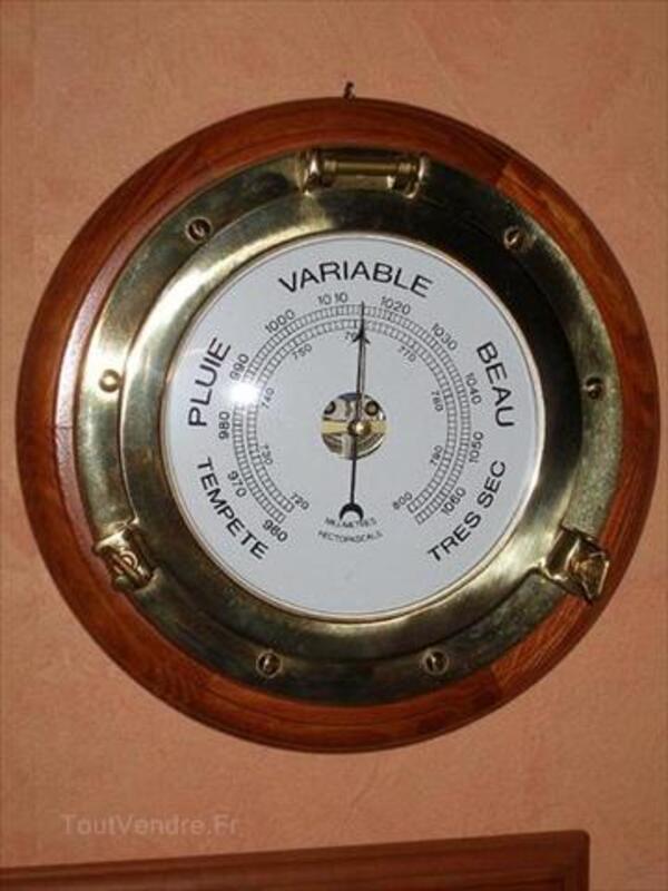 Grand barometre hublot, diamètre 25/30 cm 46706253