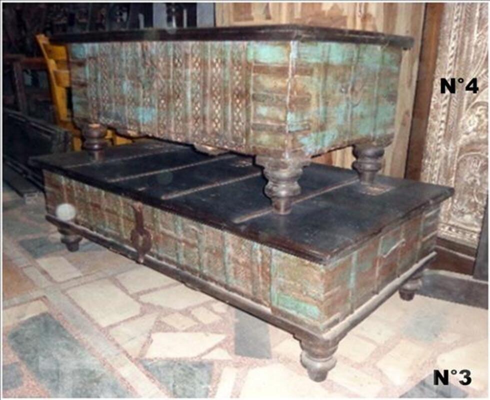 Grand coffre ou malle de rangement 85611507