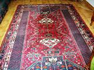 Grand tapis d'Iran - Ghashghai. 275 cm