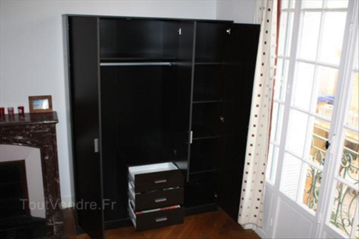 Grande armoire de qualité couleur Wengue (1 an) - 50% 72298973