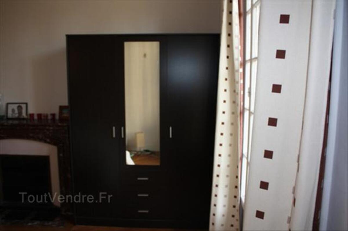 Grande armoire de qualité couleur Wengue (1 an) - 50% 72298974