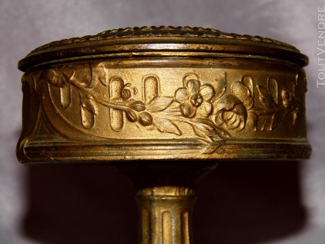 Grande Boite à bijoux regule baguier coffret antiquité rétro 178251083